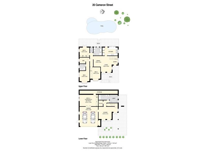 20 Cameron Street, Windsor, Qld 4030 - floorplan