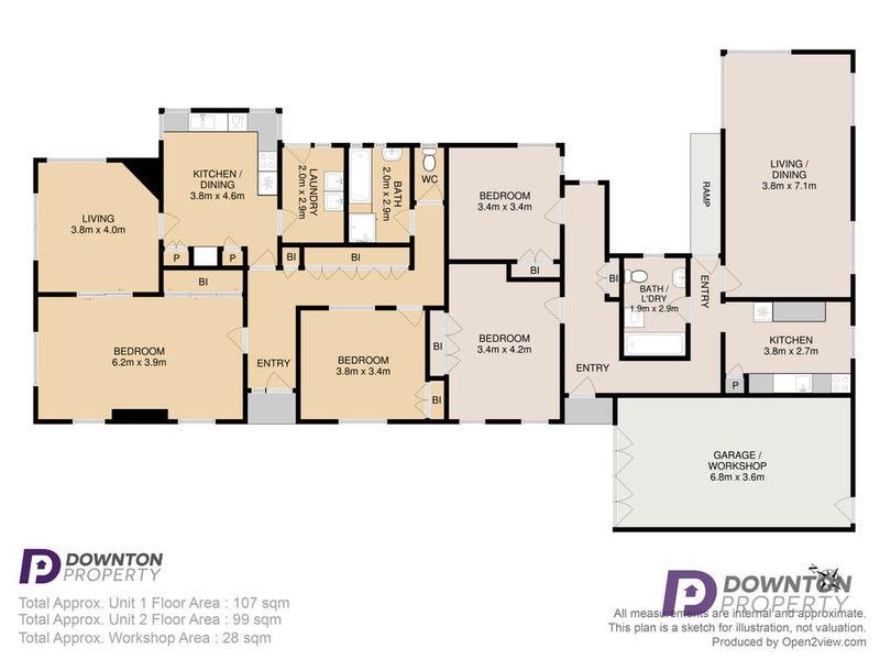 5 Tower Road, New Town, Tas 7008 - floorplan