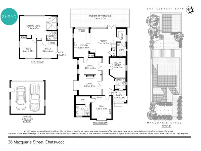 36 Macquarie Street, Chatswood, NSW 2067 - floorplan