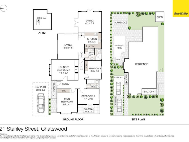 21 Stanley Street, Chatswood, NSW 2067 - floorplan
