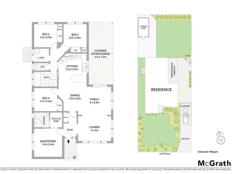 5 Lahiff Place, Dunlop, ACT 2615 - floorplan