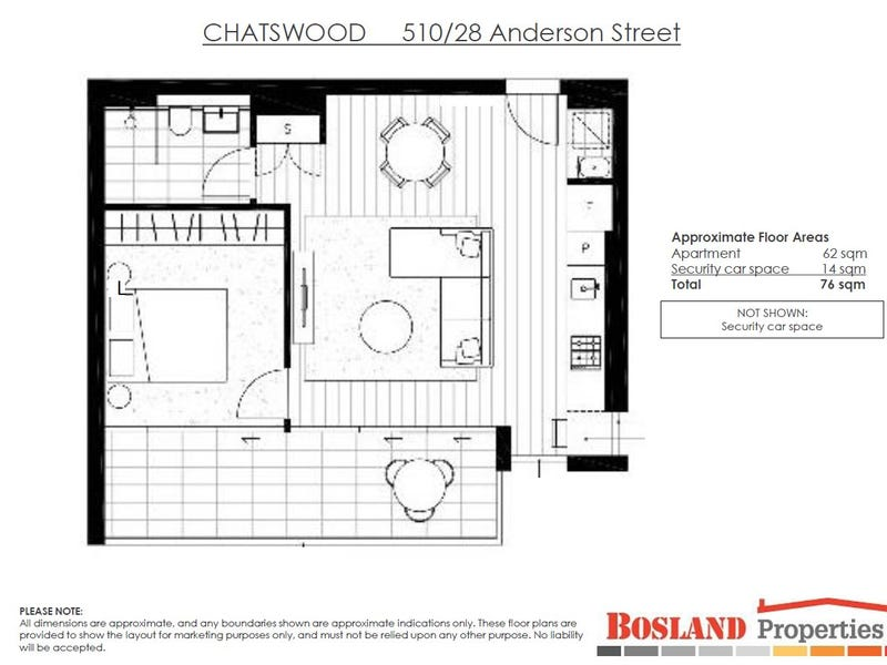 510/28 Anderson St, Chatswood, NSW 2067 - floorplan