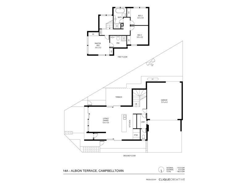14A , B, D Albion Terrace, Campbelltown, SA 5074 - floorplan
