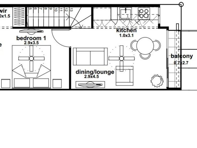 1/522 Roghan Road, Fitzgibbon, Qld 4018 - floorplan