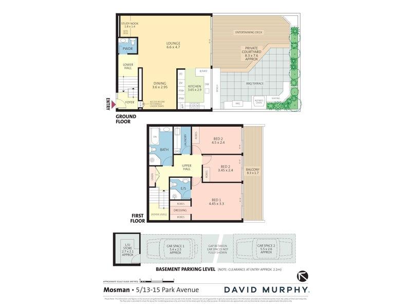 5/13-15 Park Avenue, Mosman, NSW 2088 - floorplan
