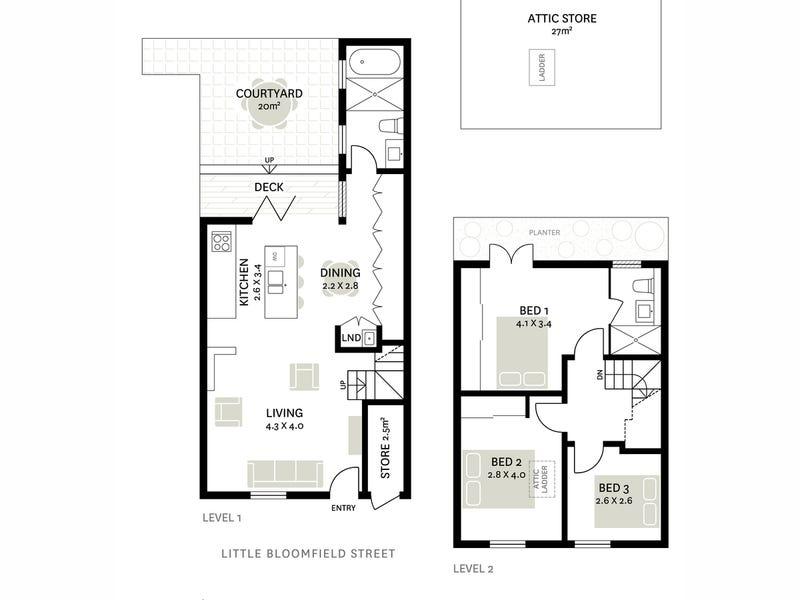 5 Little Bloomfield Street, Surry Hills, NSW 2010 - floorplan