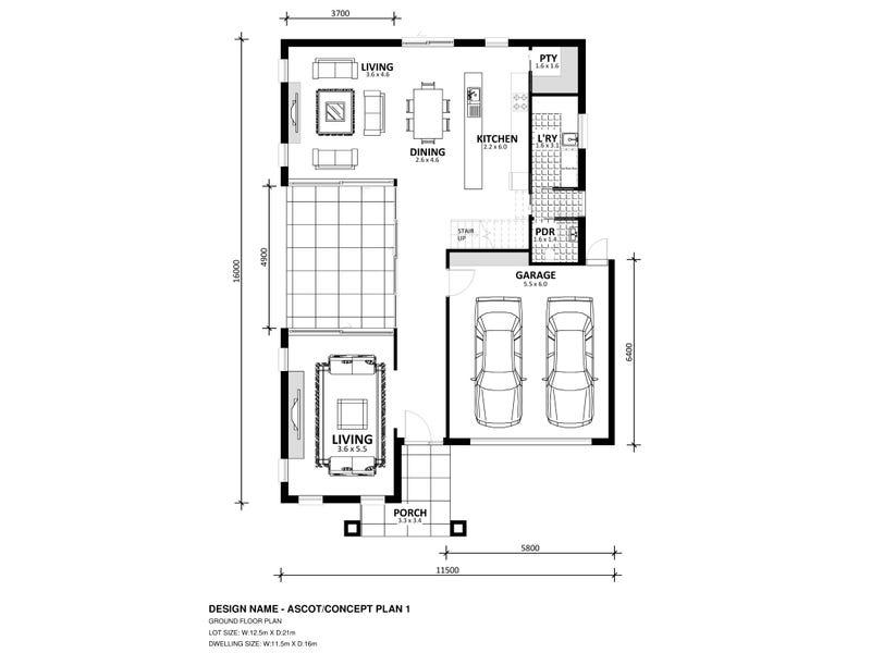Lot 728 Platform Estate, Donnybrook, Vic 3064 - floorplan