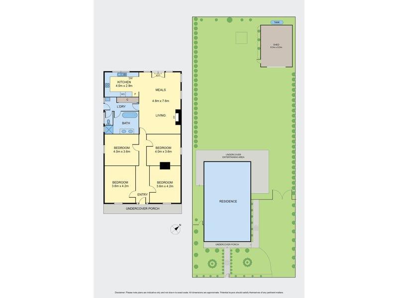 114 Main Road, Riddells Creek, Vic 3431 - floorplan
