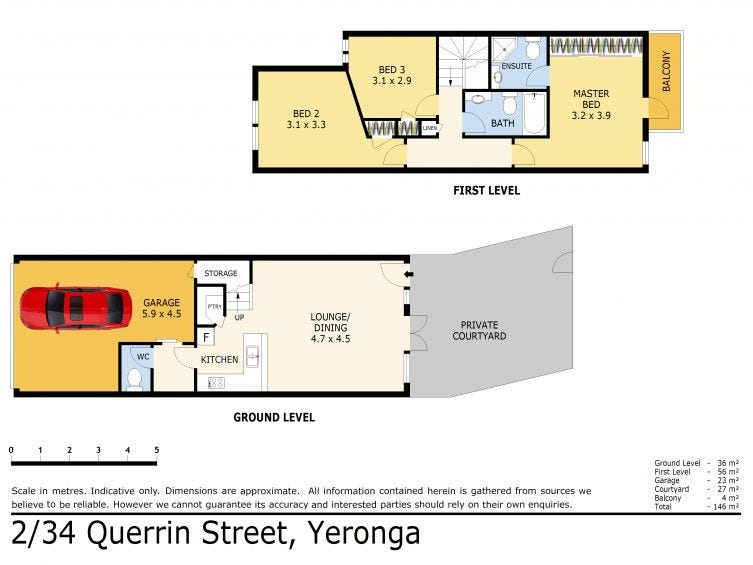 2/34 Querrin Street, Yeronga, Qld 4104 - floorplan