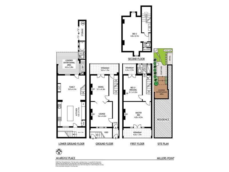 44 Argyle Place, Millers Point, NSW 2000 - floorplan