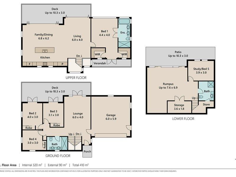 5 Perrott Street, Paddington, Qld 4064 - floorplan