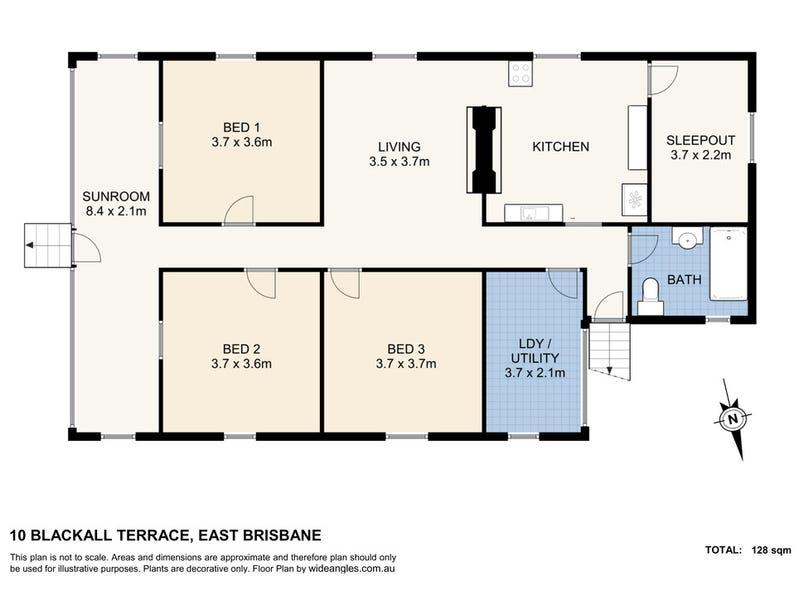 10 Blackall Terrace, East Brisbane, Qld 4169 - floorplan