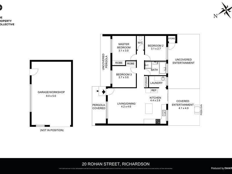 20 Rohan Street, Richardson, ACT 2905 - floorplan