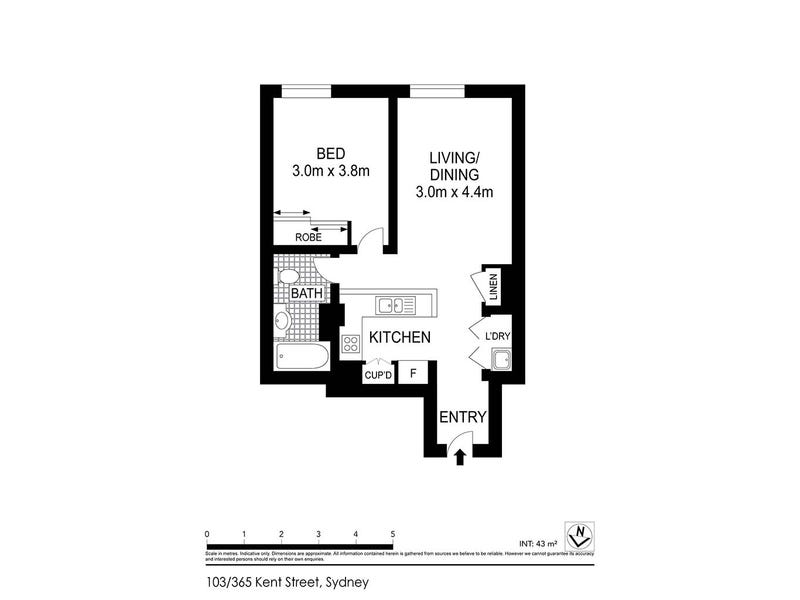 103/365 Kent Street, Sydney, NSW 2000 - floorplan