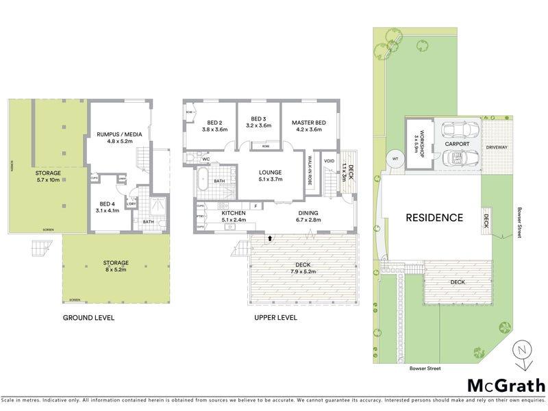 32 Bowser Street, Windsor, Qld 4030 - floorplan