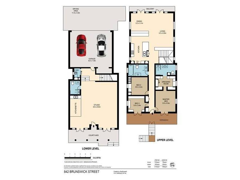 842 Brunswick Street, New Farm, Qld 4005 - floorplan
