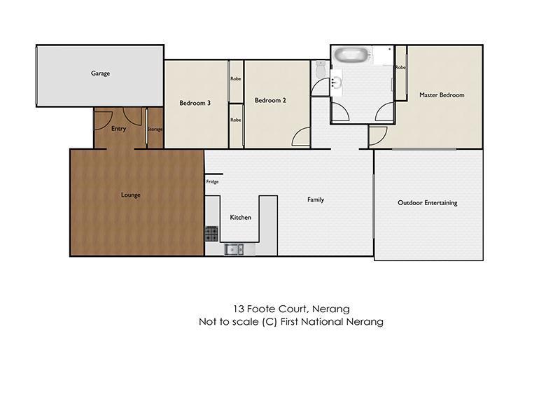 13 Foote Court, Nerang, Qld 4211 - floorplan