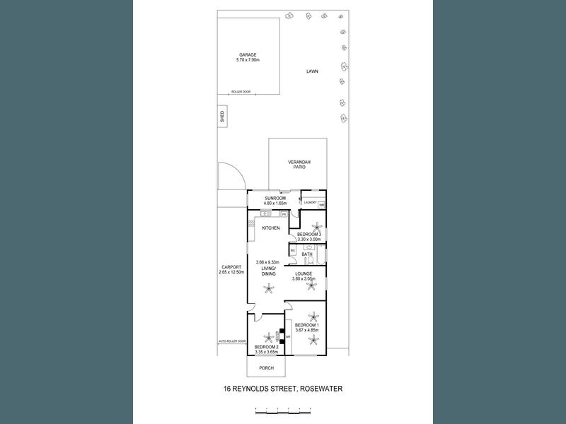 16 Reynolds Street, Rosewater, SA 5013 - floorplan