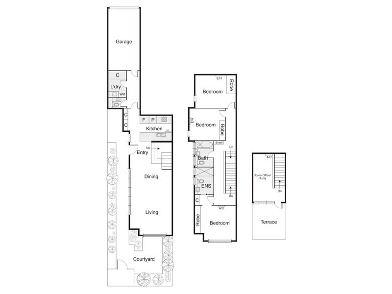2/2 Marine Avenue, St Kilda, Vic 3182 - floorplan