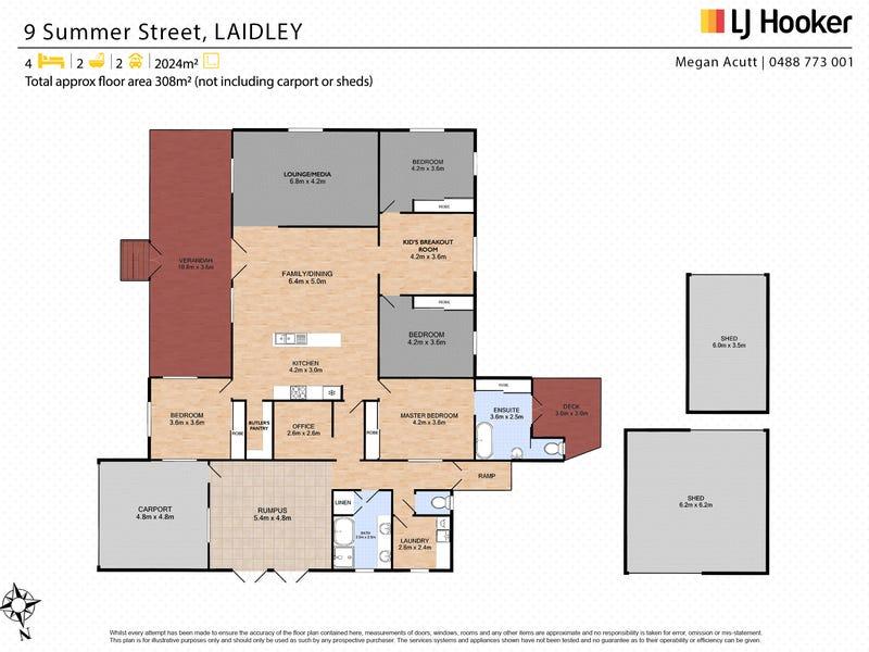 9 Summer Street, Laidley, Qld 4341 - floorplan