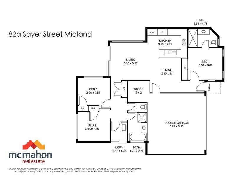 82a  Sayer Street, Midland, WA 6056 - floorplan