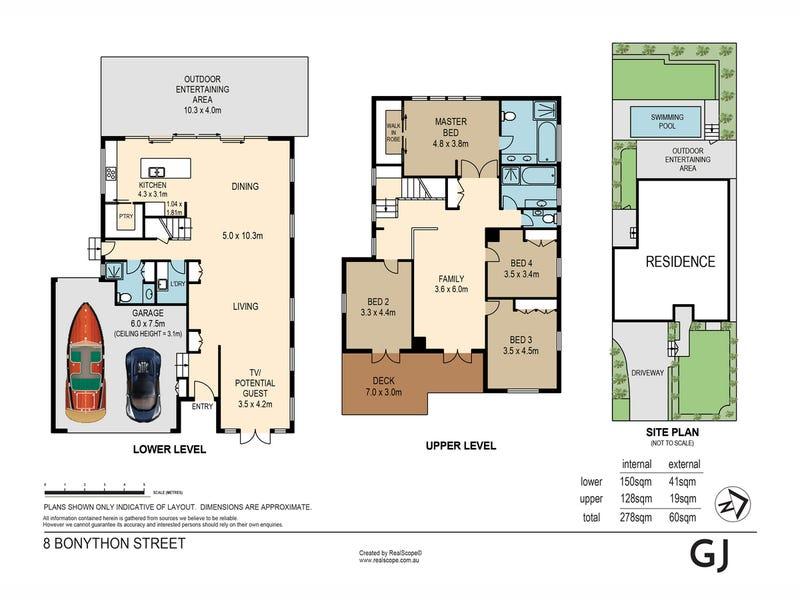8 Bonython Street, Windsor, Qld 4030 - floorplan