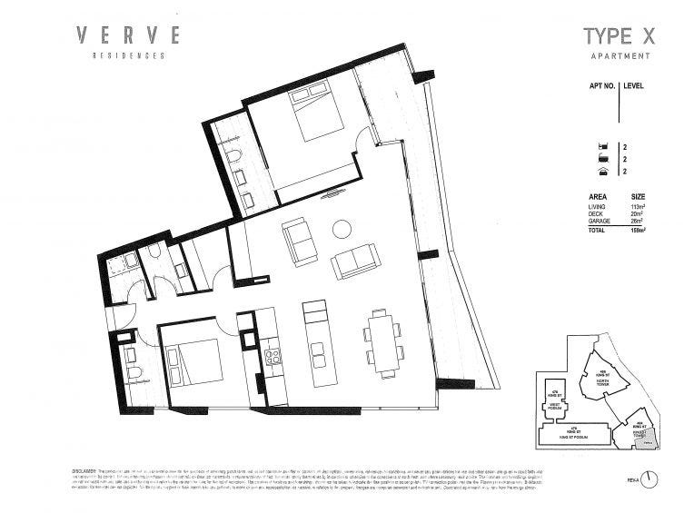 1101/464 King Street, Newcastle, NSW 2300 - floorplan
