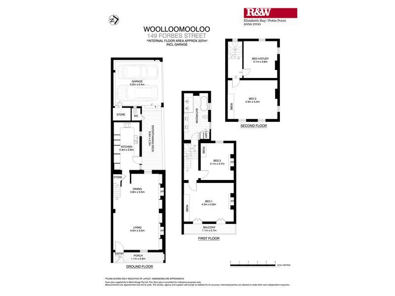 149 Forbes Street, Woolloomooloo, NSW 2011 - floorplan