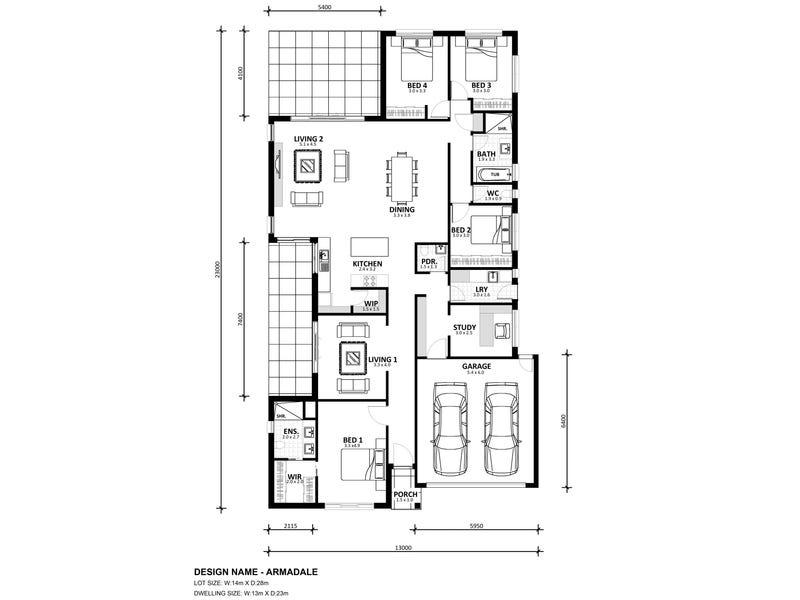 Lot 518 Bruno Avenue, Truganina, Vic 3029 - floorplan