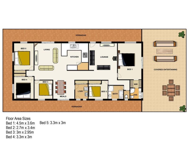 392-412 Mundoolun Road, Jimboomba, Qld 4280 - floorplan
