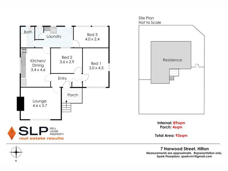 7 Harwood Street, Hilton, WA 6163 - floorplan
