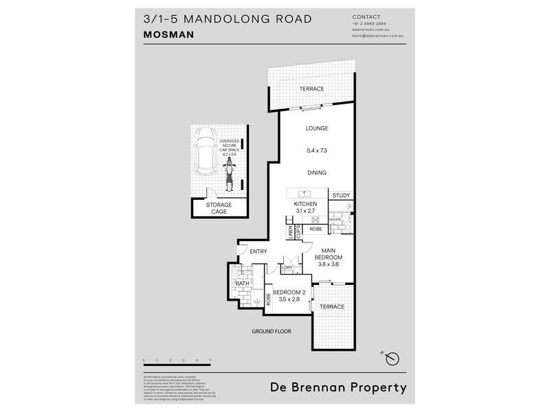 3/1-5 Mandolong Road, Mosman, NSW 2088 - floorplan