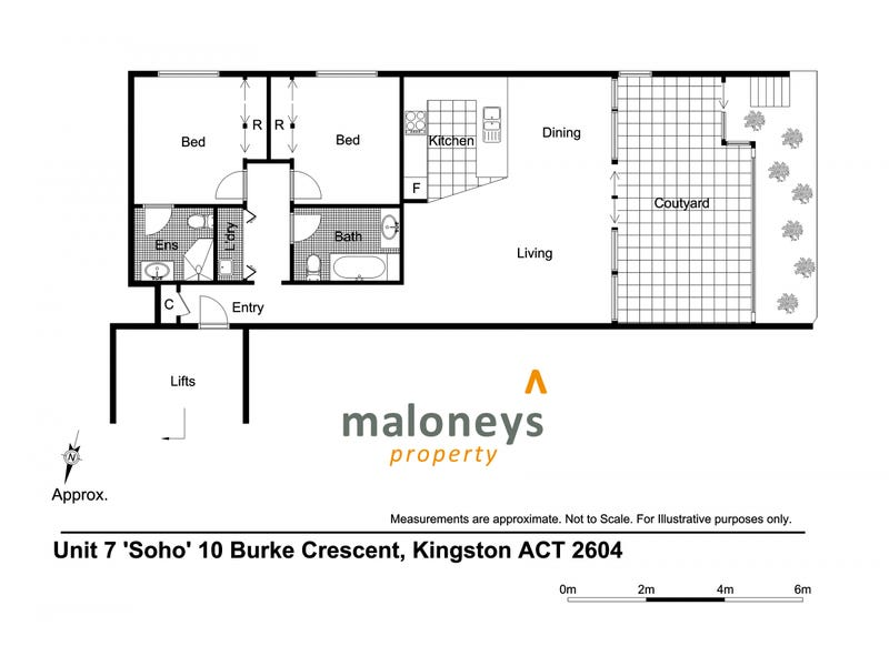 7/10 Burke Crescent, Kingston, ACT 2604 - floorplan