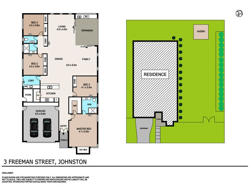 3 Freeman Street, Johnston, NT 0832 - floorplan