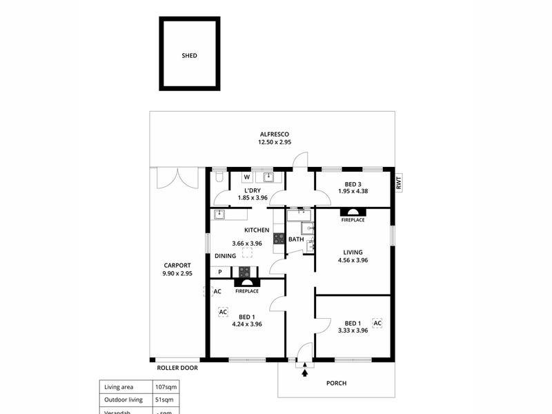 8 Westbourne Street, West Croydon, SA 5008 - floorplan
