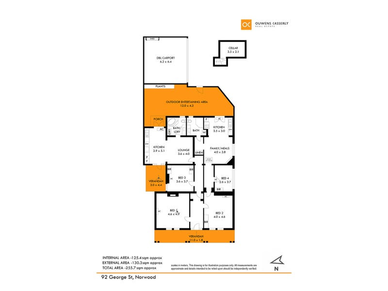 92 George Street, Norwood, SA 5067 - floorplan