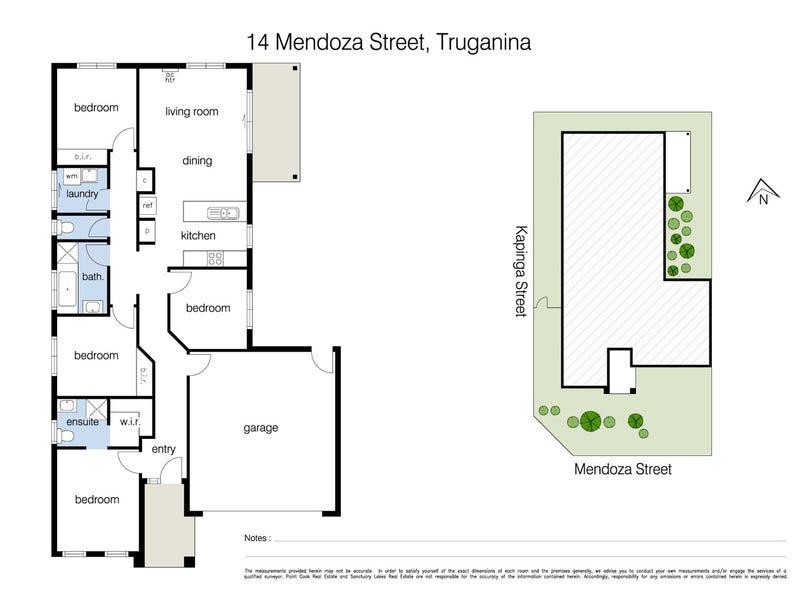 14 Mendoza Street, Truganina, Vic 3029 - floorplan