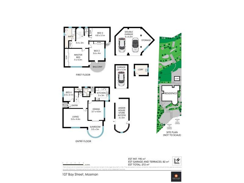 107 Bay Street, Mosman, NSW 2088 - floorplan