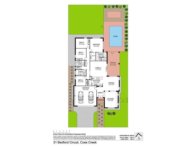 31 Bedford Circuit, Coes Creek, Qld 4560 - floorplan