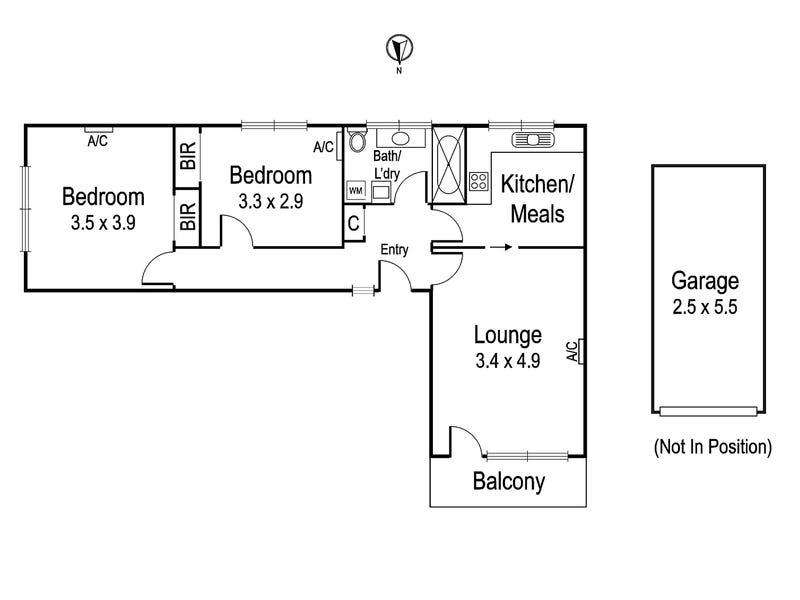 11/86 Marshall Street, Ivanhoe, Vic 3079 - floorplan