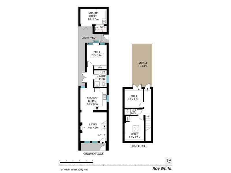 124 Wilton Street, Surry Hills, NSW 2010 - floorplan