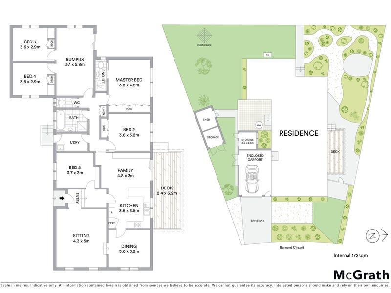 59 Barnard Circuit, Florey, ACT 2615 - floorplan