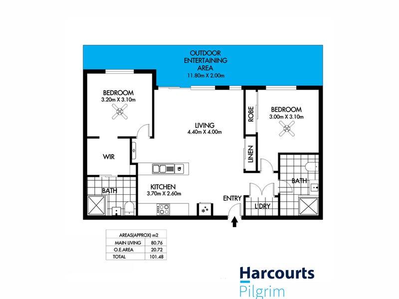 GO1/12 Fifth Street, Bowden, SA 5007 - floorplan