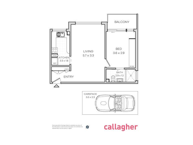 10/70A Wigram Road, Glebe, NSW 2037 - floorplan
