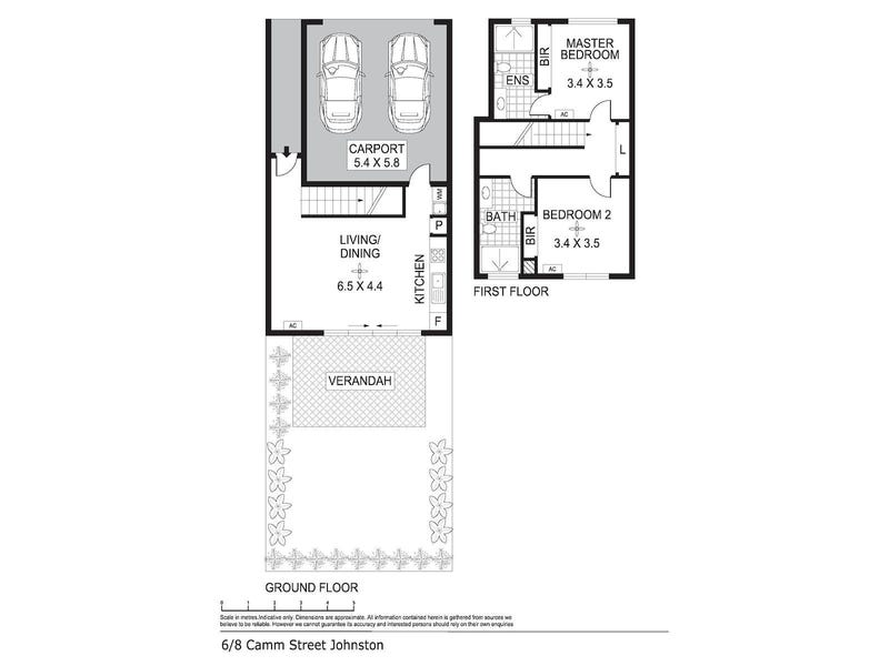 6/8 Camm  Street, Johnston, NT 0832 - floorplan
