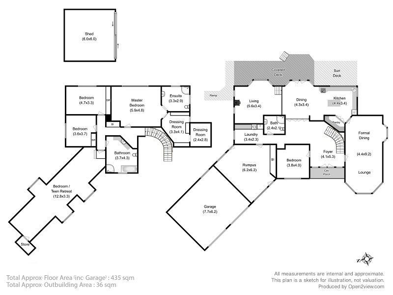 Dromedary, address available on request - floorplan