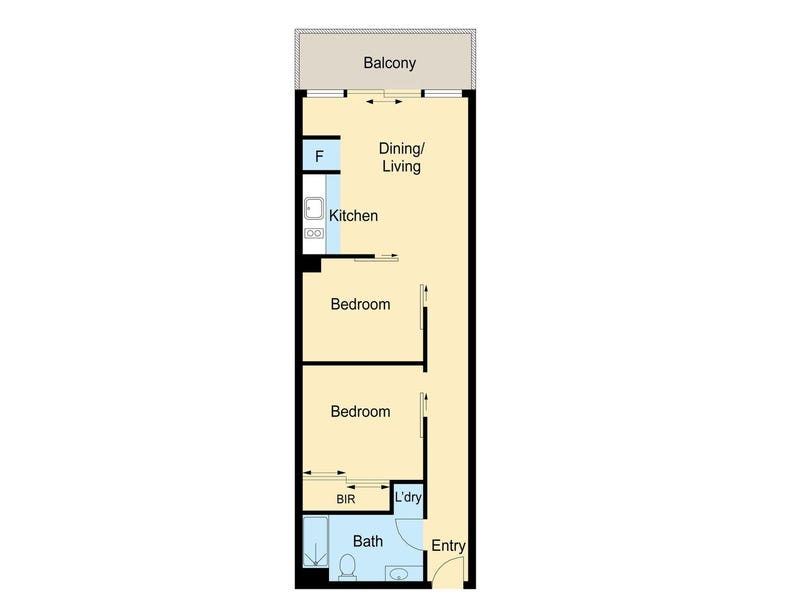 L9/25 Therry, Melbourne, Vic 3000 - floorplan