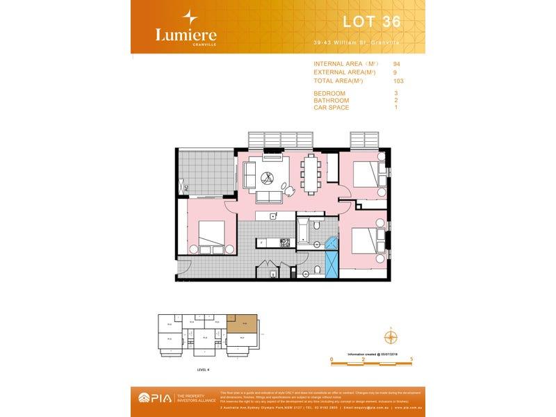 36/39 William St, Granville, NSW 2142 - floorplan